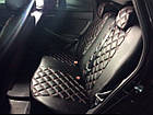 Чехлы на сиденья Сузуки Гранд Витара 3 (Suzuki Grand Vitara 3) (модельные, 3D-ромб, отдельный подголовник), фото 3