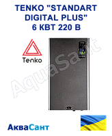 "Электрический котел Tenko ""Standart Digital Plus"" 6 кВт 220 В (с насосом), фото 1"