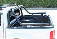 Mercedes X class Дуга на кузов (черная) 76мм
