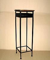 Стол-консоль №02 средний кованый