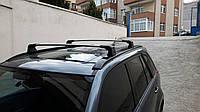 Suzuki Grand Vitara 2005-2014 гг. Перемычка в штатные места (2 шт) Черный