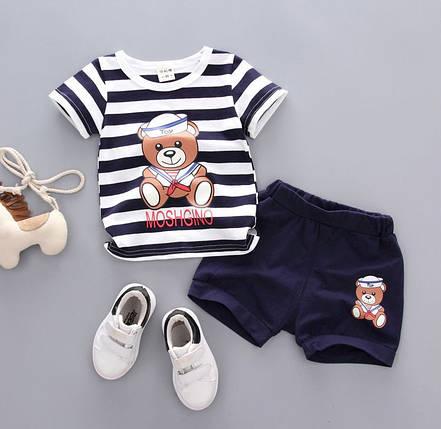 "Летний костюм на мальчика  футбока +шорты 4-5 года  ""Мишутка"", фото 2"