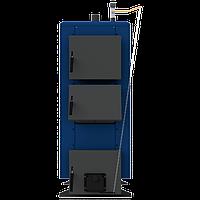 Твердопаливний котел тривалого горіння НЕУС-КТМ 15 кВт (з хутро.реєстр.тяги)