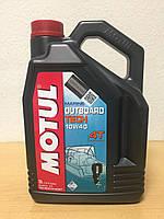 Масло MOTUL OUTBOARD TECH 4T 10W-40 5л (101750/106354), фото 1