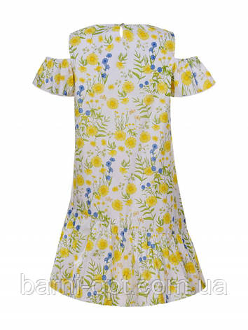 Сукня котоновое на дівчинку оптом, Glo-story, 110-160 рр., фото 2