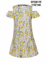 Платье котоновое на девочку оптом, Glo-story, 110-160 рр.