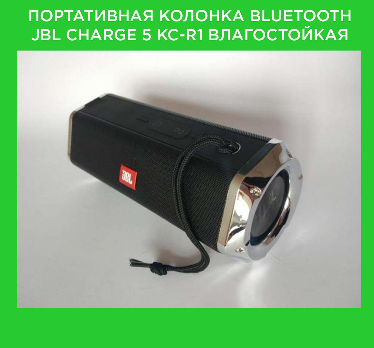 Портативная колонка Bluetooth JBL CHARGE 5 KC-R1 влагостойкая!Акция