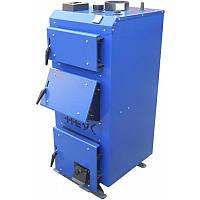 Твердотопливный котел длительного горения  НЕУС-В 25 кВт (сталь 5мм) (Доставка бесплатно)