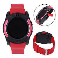 Smart Watch V 8, часы-телефон, красные