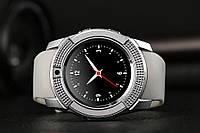 Smart Watch V 8, часы-телефон, серебрянные