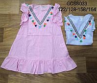 Платье для девочек оптом, Glo-story, 122/128-158/164 рр., арт. GCS-8033