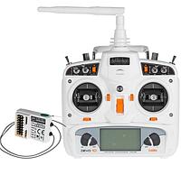 Комплект аппаратуры Walkera DEVO-10 / RX1002 для мультикоптеров, вертолетов и самолетов, (белый)
