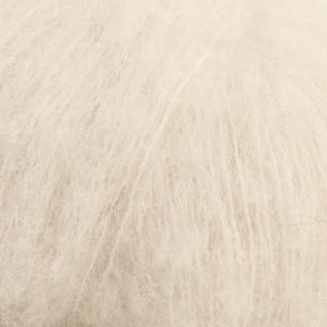 Пряжа Drops Brushed Alpaca Silk, цвет Off White (01)