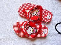 НЕДОРОГО Летние босоножки шлепки Kitty для девочки р. 24, 25, фото 1