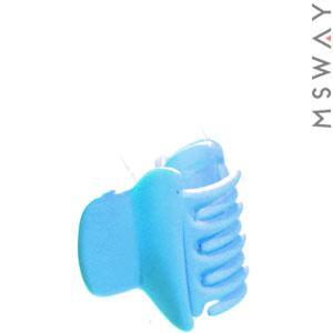 KATTi Краб для волос 28 805 малый цветной карбон Ш2,5 1шт сине голубой