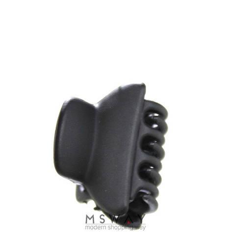 KATTi Краб для волос 28 811 малый цветной карбон Ш2,5 1шт черный, фото 2