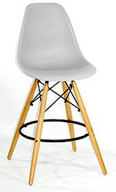 Полубарный стул Nik Eames, светло-серый