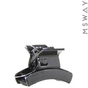 KATTi Краб для волос 28 817 малый пластик черный лаковый Ш3,5 1шт, фото 2