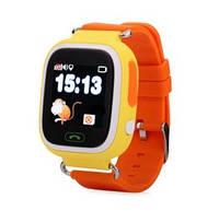 Детские Умные часы с GPS Q90 желтые
