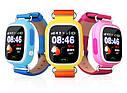 Детские Умные часы с GPS Q90 желтые, фото 3