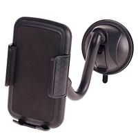 Держатель мобильного телефона PULSO UH-2054BK (60-95мм) на гибкой ножке