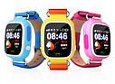 Детские Умные часы с GPS Q90 голубые, фото 5