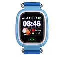 Детские Умные часы с GPS Q90 голубые, фото 2