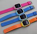 Детские Умные часы с GPS Q90 голубые, фото 6