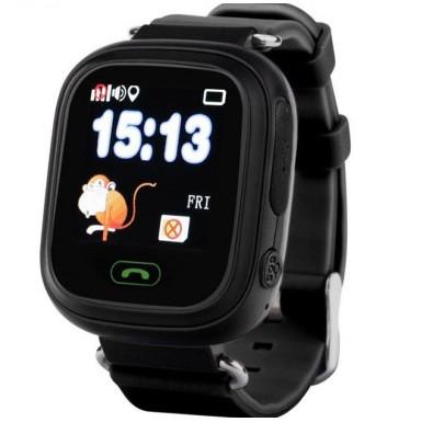 Детские Умные часы с GPS Q90 черные