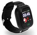 Детские Умные часы с GPS Q90 черные, фото 3