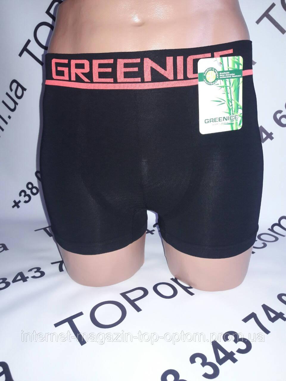 Боксери чоловічі Безшовні хлопкові   GreeNice