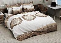 Комплект постельного белья Евро Бязь Голд Люкс 100% хлопок