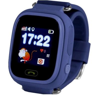 Дитячі Розумні годинник з GPS Q90 темно сині