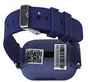 Дитячі Розумні годинник з GPS Q90 темно сині, фото 3
