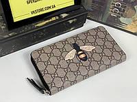 Gucci мужской кошелек, фото 1