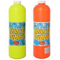 Запаска к мыльным пузырям Colorful Bubbles 780: объем 1500мл