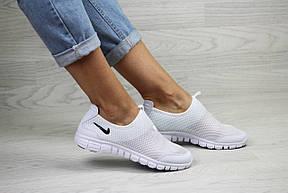 Подростковые,женские летние кроссовки Nike Free Run 3.0 ,белые, фото 2