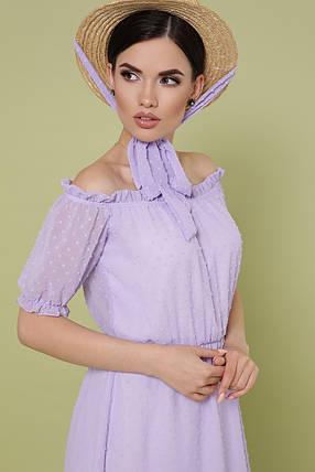 Легчайшее платье из набивного шифона    Размеры S, M, L, XL , фото 2