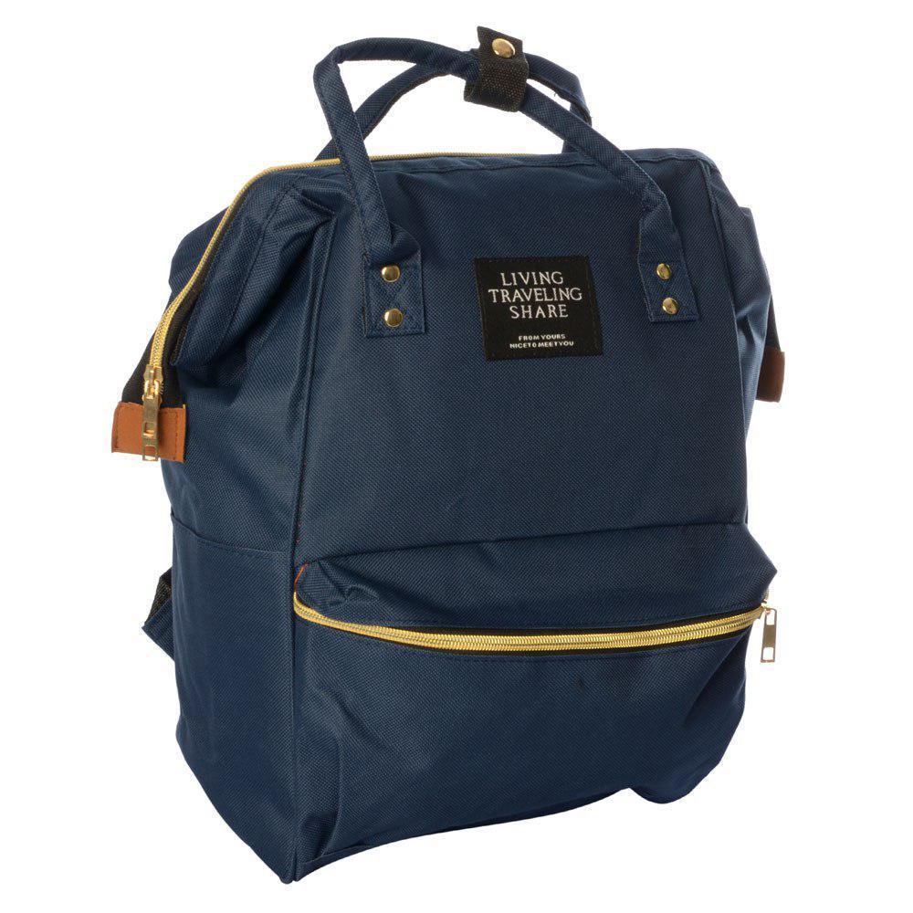 Сумка-рюкзак MK 2868, синій
