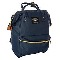Сумка-рюкзак MK 2868, синій, фото 1