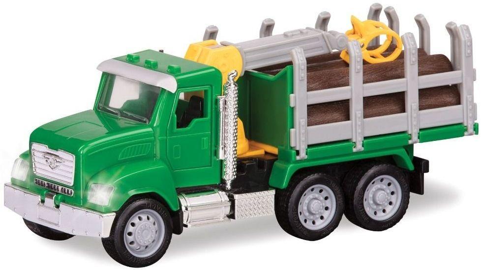 Игрушка Лесовоз-погрузчик DRIVEN MICRO WH1013Z, зеленый