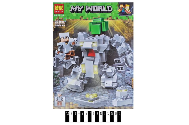 Конструктор BELA MY WORLD 221дет, 11135