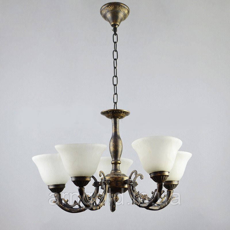 Люстра подвесная на пять ламп HTD-4416/5A FGK