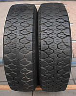 Шины б/у 215/75 R16С Goodyear Cargo Ultra Grip, пара, 9 мм
