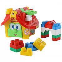 """Логический домик """"Маленький строитель"""", Полесье, 9646"""