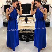 Женское стильное платье в пол