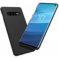 Чехол Nillkin Super Frosted Shield для Samsung Galaxy S10 (2019) G973 Black