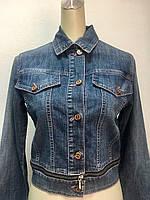 Куртка DLF женская джинсовая трансформер