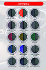 Чехлы на сиденья Субару Аутбек (Subaru Outback) (модельные, экокожа+автоткань, отдельный подголовник), фото 9