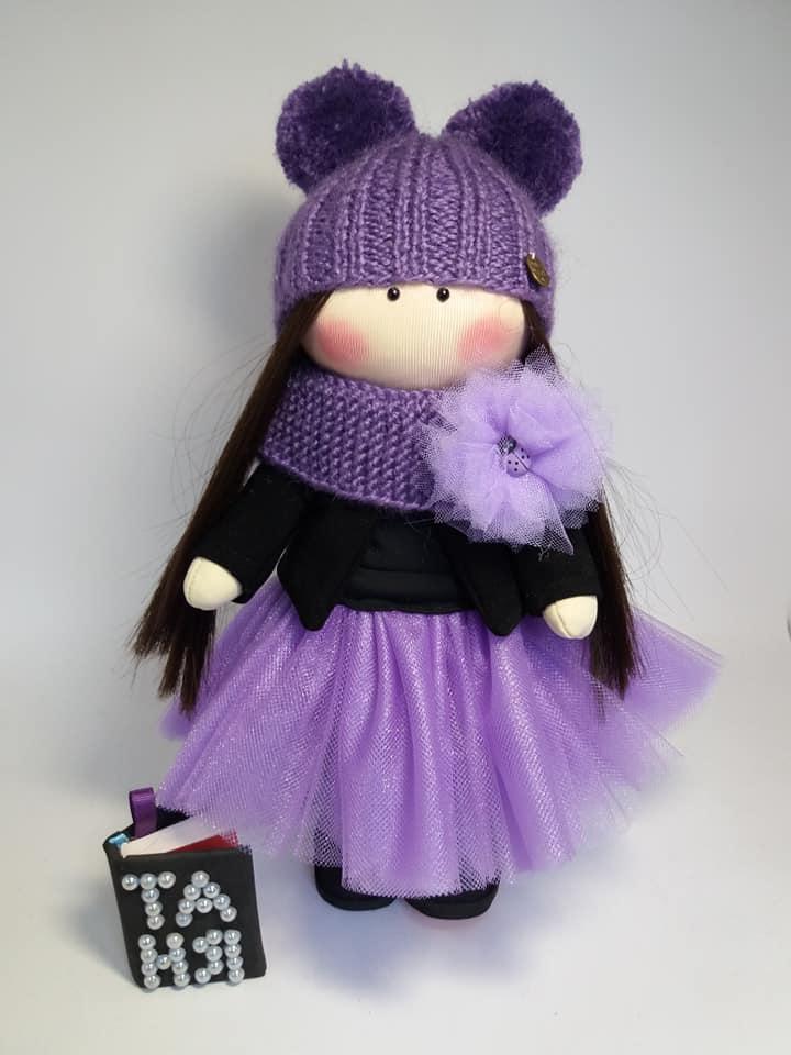 Текстильна лялька, лялька в подарунок